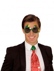 Óculos pinheiro de Natal adulto