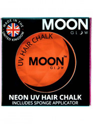 Creme para cabelo cor de laranja fluo UV 3.5 g Moonglow©