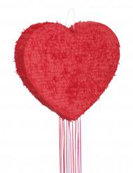 Pinhata coração vermelho