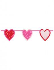 Grinalda corações