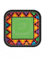 10 Pratos pequenos de cartão México