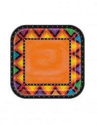8 Pratos de cartão México