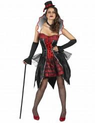 Disfarce condessa Dracula mulher