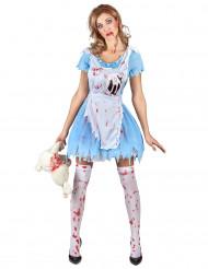 Disfarce Alice sangrenta mulher