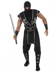 Disfarce ninja estrela Shuriken homem