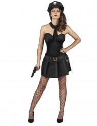 Disfarce agente da polícia sexy mulher
