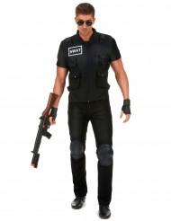 Disfarce agente do SWAT homem