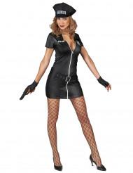 Disfarce polícia sexy mulher