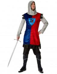 Disfarce cavaleiro dragão homem