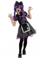 Disfarce boneca gótica menina