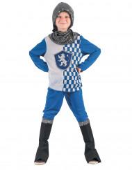 Disfarce cavaleiro azul menino