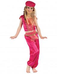 Disfarce dançarina oriental cor-de-rosa menina