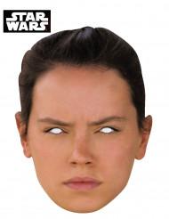 Máscara de cartão Rey - Star Wars VII™