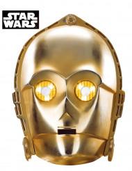 Máscara de cartão C3-PO - Star Wars™