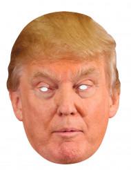 Máscara de cartão Donald Trump
