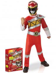 Disfarce luxo Power Rangers Vermelho Dino Charge™
