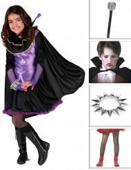 Disfarce vampira menina