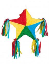 Pinhata estrela colorida