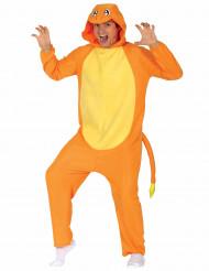 Disfarce pequeno roedor cor de laranja adulto
