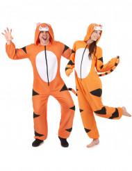 Disfarce de casal tigre adulto