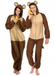 Disfarce de casal macaco
