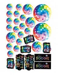 30 Decorações de cartão disco