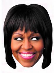 Máscara cartão Michelle Obama