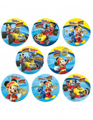 16 Mini discos de açúcar Mickey™ 3.4 cm