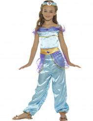 Disfarce princesa oriental azul menina