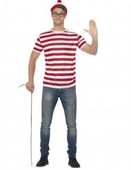 Kit acessórios Onde está o Wally™ ? adulto