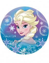 Disco ázimo Elsa Frozen™ 20 cm