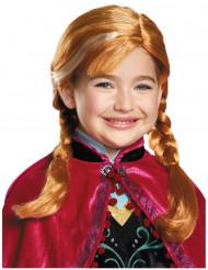 Peruca Anna de Frozen™ menina