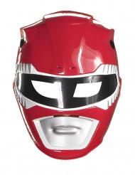 Máscara Power Rangers™ vermelho criança