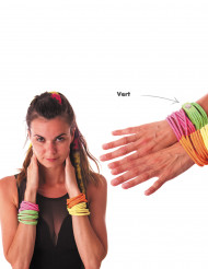 Pulseira fashion verde fluo adulto