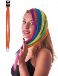 Mecha de cabelo cor de laranja fluo para fixar