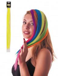 Mecha de cabelo amarelo fluo para fixar