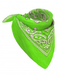 Bandana verde fluo adulto