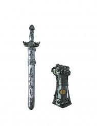 Espadae luva de cavaleiro