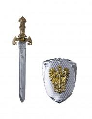 Espada e escudo fénix