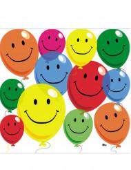 12 Guardanapos de papel Smile 33 x 33 cm