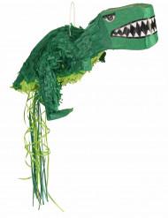 Pinhata dinossauro verde