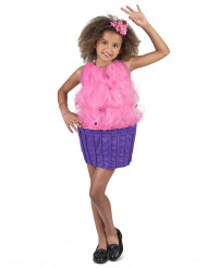 Disfarce Cupcake cor-de-rosa menina