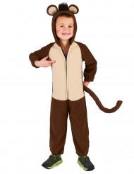 Disfarce Macaco com cauda para criança