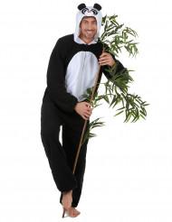 Disfarce de Panda homem
