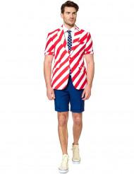 Fato de verão Mr. América homem Opposuits™