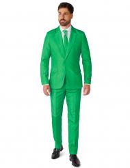 Fato Mr. Solid verde homem Suitmeister™