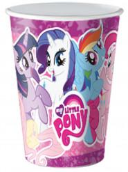 8 Copos de cartão My Little Pony™ 25 cl