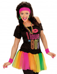 Tutu colorido fluo mulher