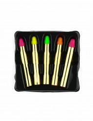 5 Lápis de maquilhagem fluo