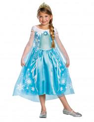Disfarce luxo Elsa Frozen™ menina